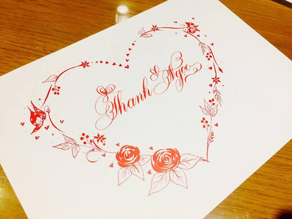 mau chu dep 1 - Bộ sưu tập mẫu chữ đẹp sáng tạo, chữ viết nghệ thuật với tên riêng
