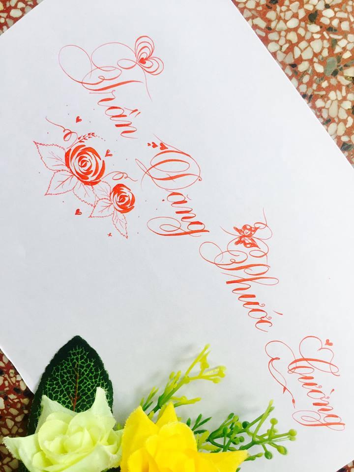 mau chu dep 13 - Bộ sưu tập mẫu chữ đẹp sáng tạo, chữ viết nghệ thuật với tên riêng