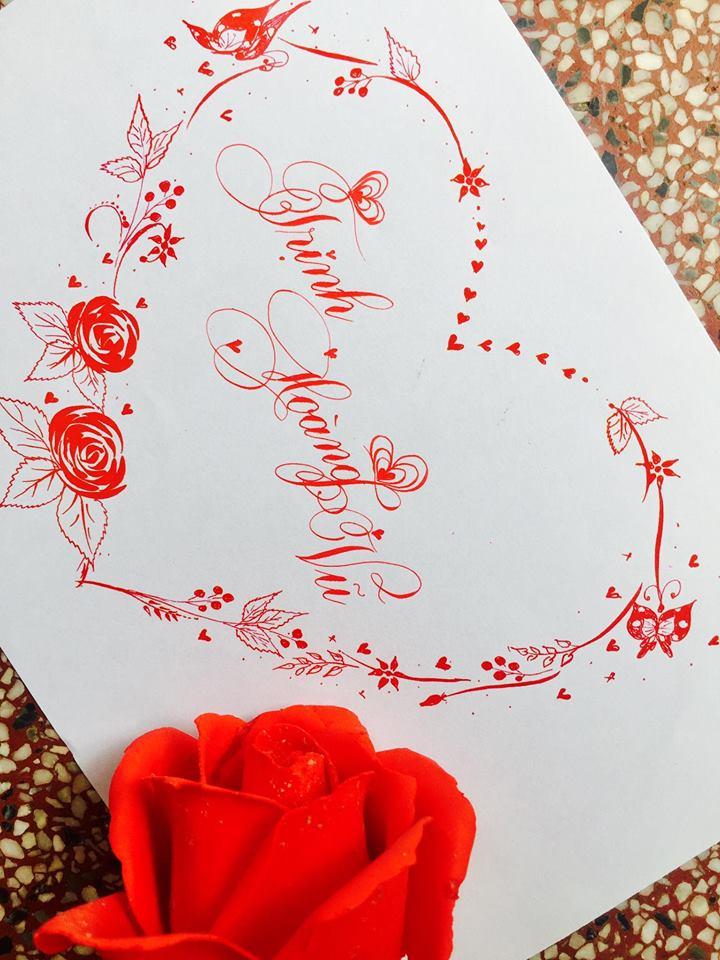 mau chu dep 15 - Bộ sưu tập mẫu chữ đẹp sáng tạo, chữ viết nghệ thuật với tên riêng
