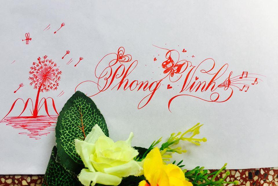 mau chu dep 18 - Bộ sưu tập mẫu chữ đẹp sáng tạo, chữ viết nghệ thuật với tên riêng