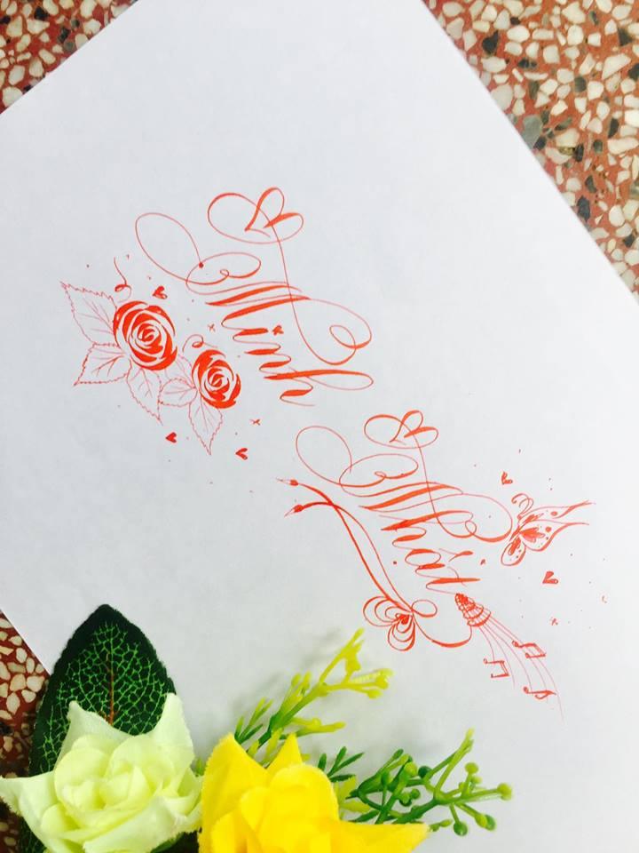 mau chu dep 20 - Bộ sưu tập mẫu chữ đẹp sáng tạo, chữ viết nghệ thuật với tên riêng