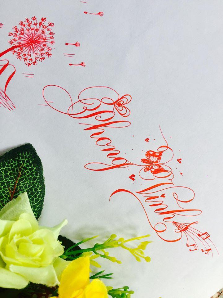 mau chu dep 21 - Bộ sưu tập mẫu chữ đẹp sáng tạo, chữ viết nghệ thuật với tên riêng