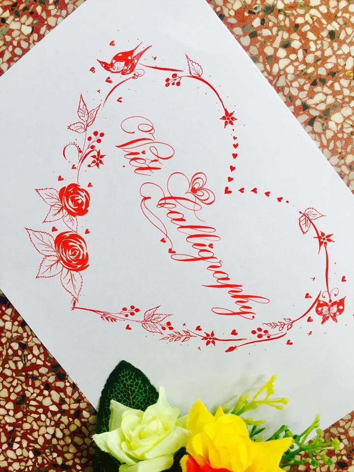 mau chu dep 26 - Bộ sưu tập mẫu chữ đẹp sáng tạo, chữ viết nghệ thuật với tên riêng