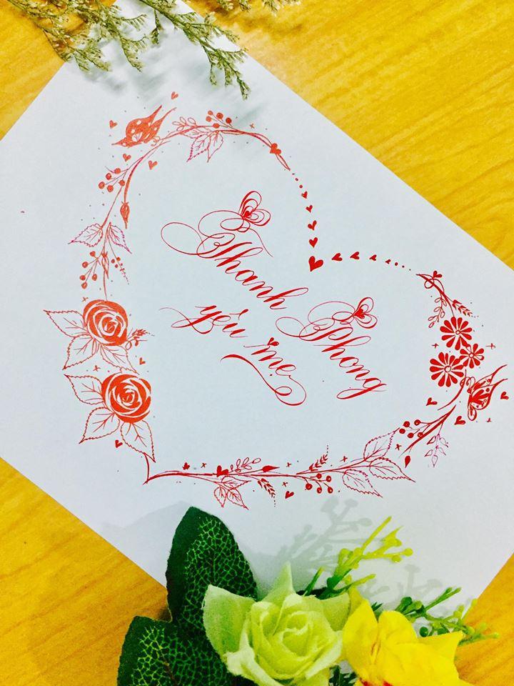 mau chu dep 28 - Bộ sưu tập mẫu chữ đẹp sáng tạo, chữ viết nghệ thuật với tên riêng
