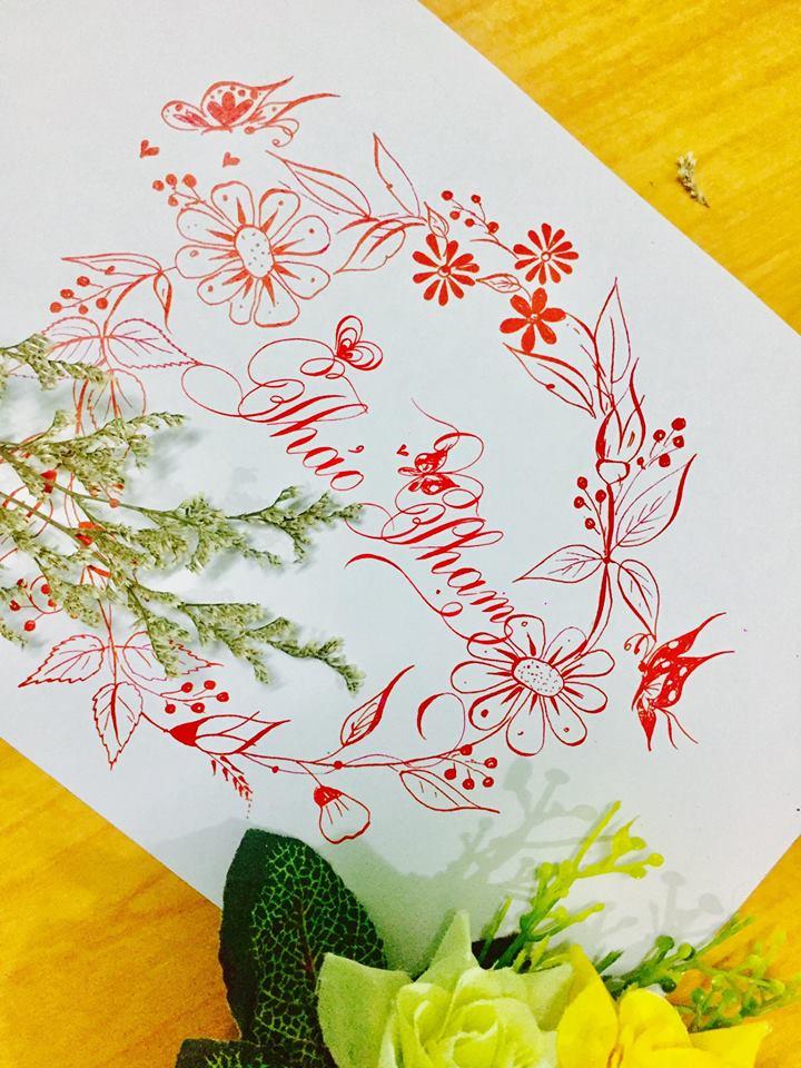 mau chu dep 29 - Bộ sưu tập mẫu chữ đẹp sáng tạo, chữ viết nghệ thuật với tên riêng