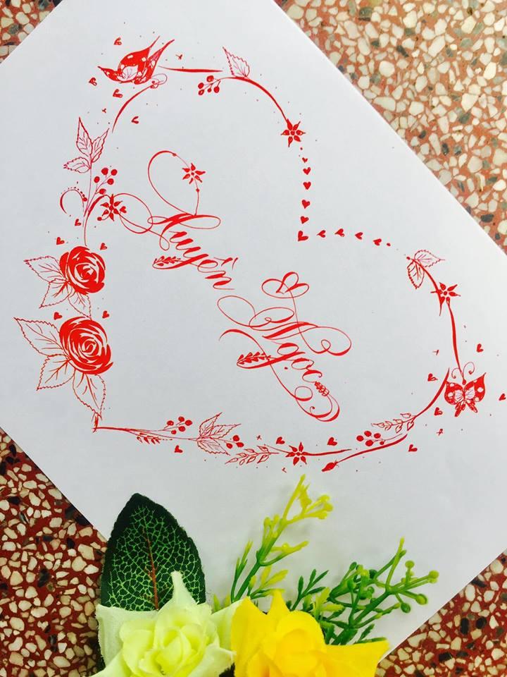 mau chu dep 31 - Bộ sưu tập mẫu chữ đẹp sáng tạo, chữ viết nghệ thuật với tên riêng