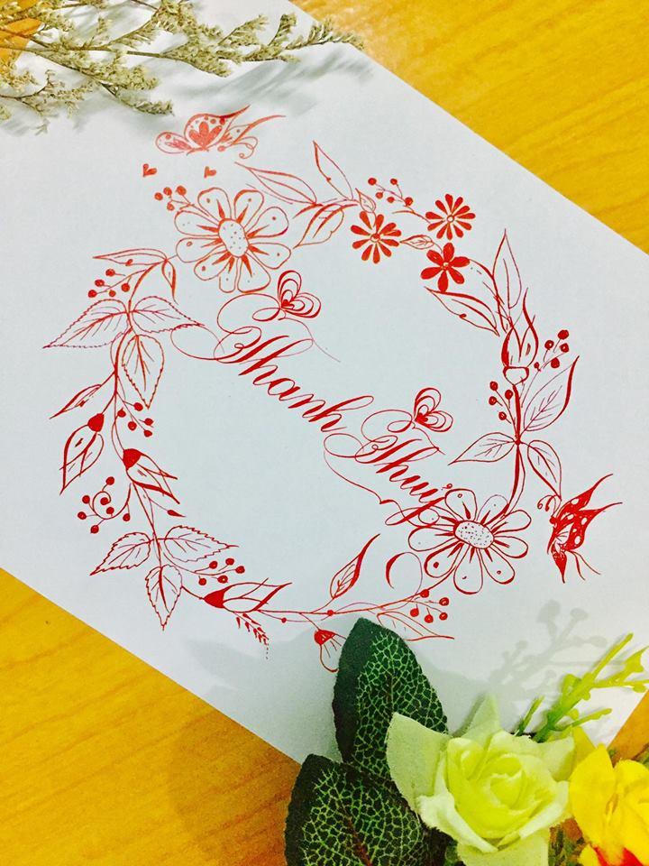 mau chu dep 34 - Bộ sưu tập mẫu chữ đẹp sáng tạo, chữ viết nghệ thuật với tên riêng