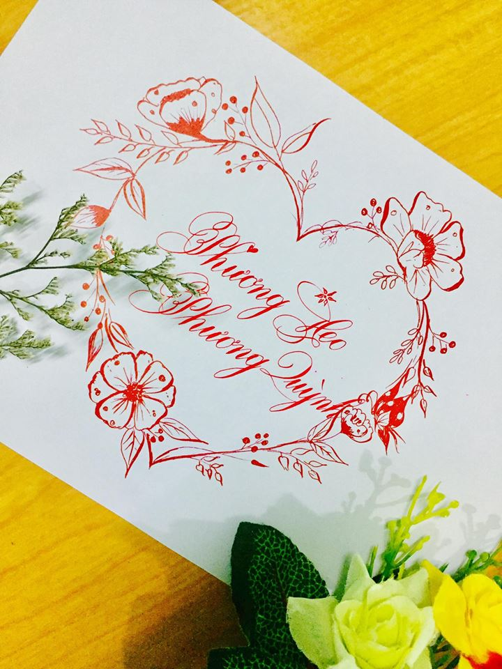 mau chu dep 37 - Bộ sưu tập mẫu chữ đẹp sáng tạo, chữ viết nghệ thuật với tên riêng