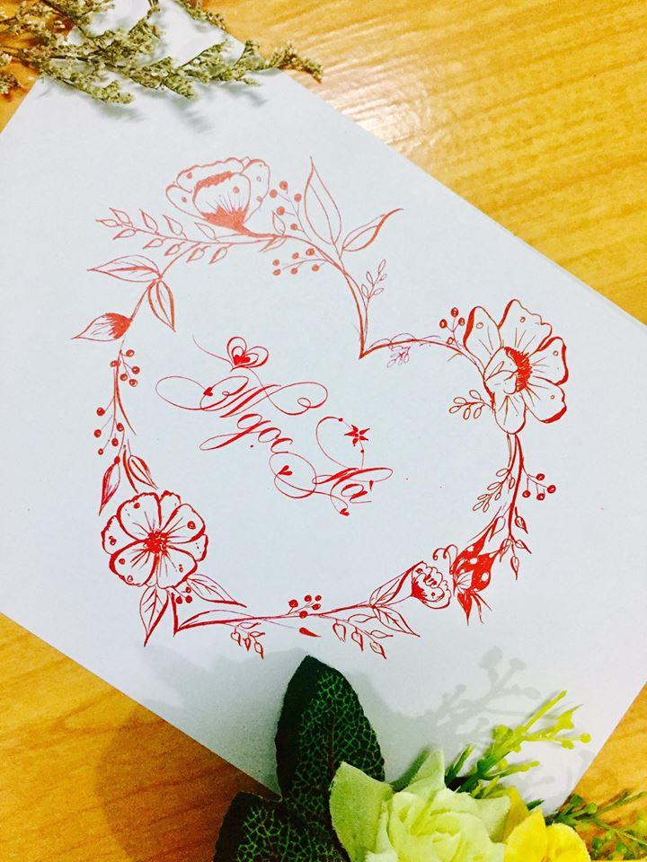 mau chu dep 39 - Bộ sưu tập mẫu chữ đẹp sáng tạo, chữ viết nghệ thuật với tên riêng