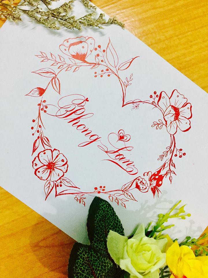 mau chu dep 41 - Bộ sưu tập mẫu chữ đẹp sáng tạo, chữ viết nghệ thuật với tên riêng