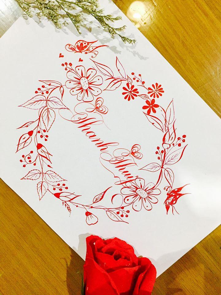 mau chu dep 42 - Bộ sưu tập mẫu chữ đẹp sáng tạo, chữ viết nghệ thuật với tên riêng