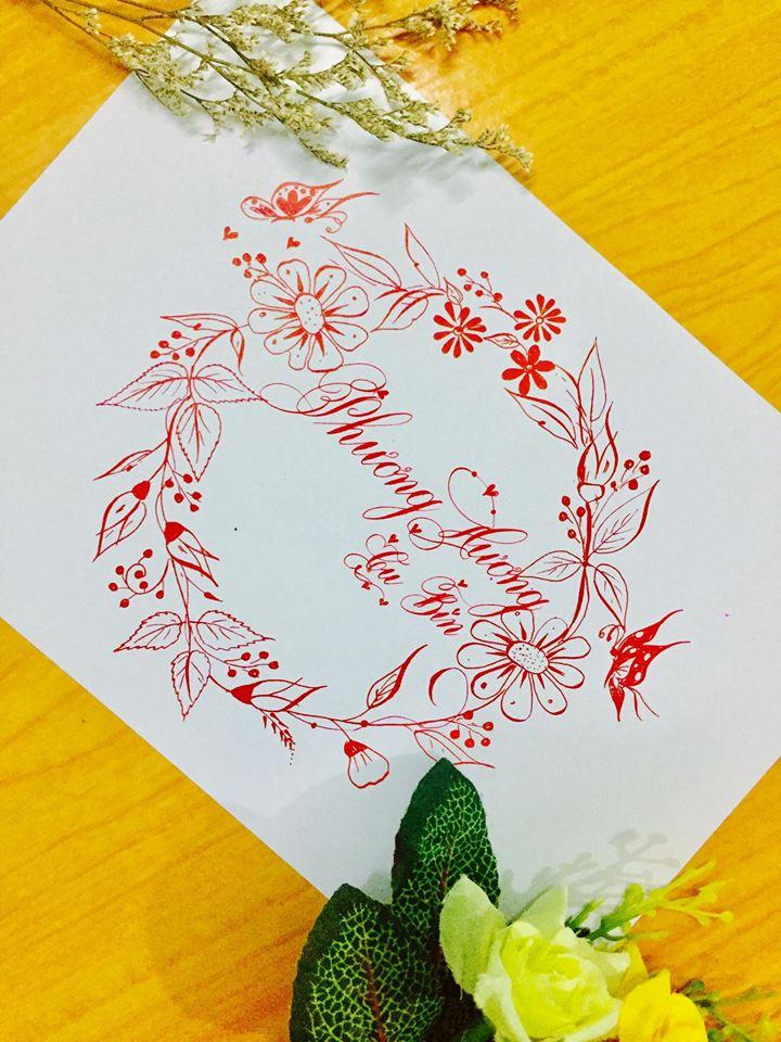 mau chu dep 44 - Bộ sưu tập mẫu chữ đẹp sáng tạo, chữ viết nghệ thuật với tên riêng
