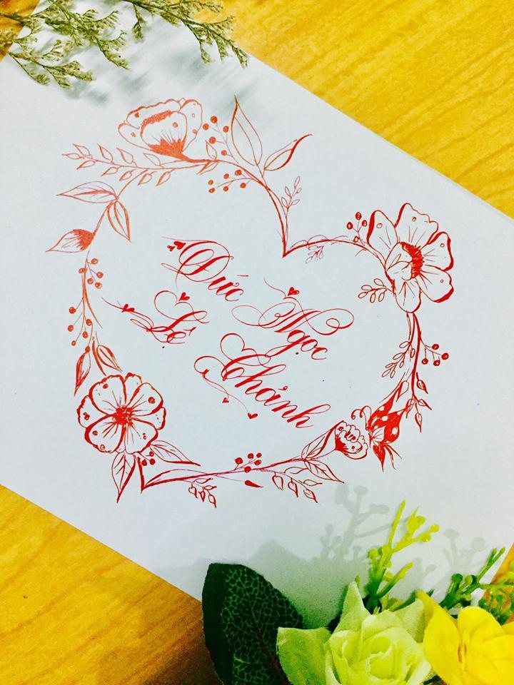 mau chu dep 45 - Bộ sưu tập mẫu chữ đẹp sáng tạo, chữ viết nghệ thuật với tên riêng