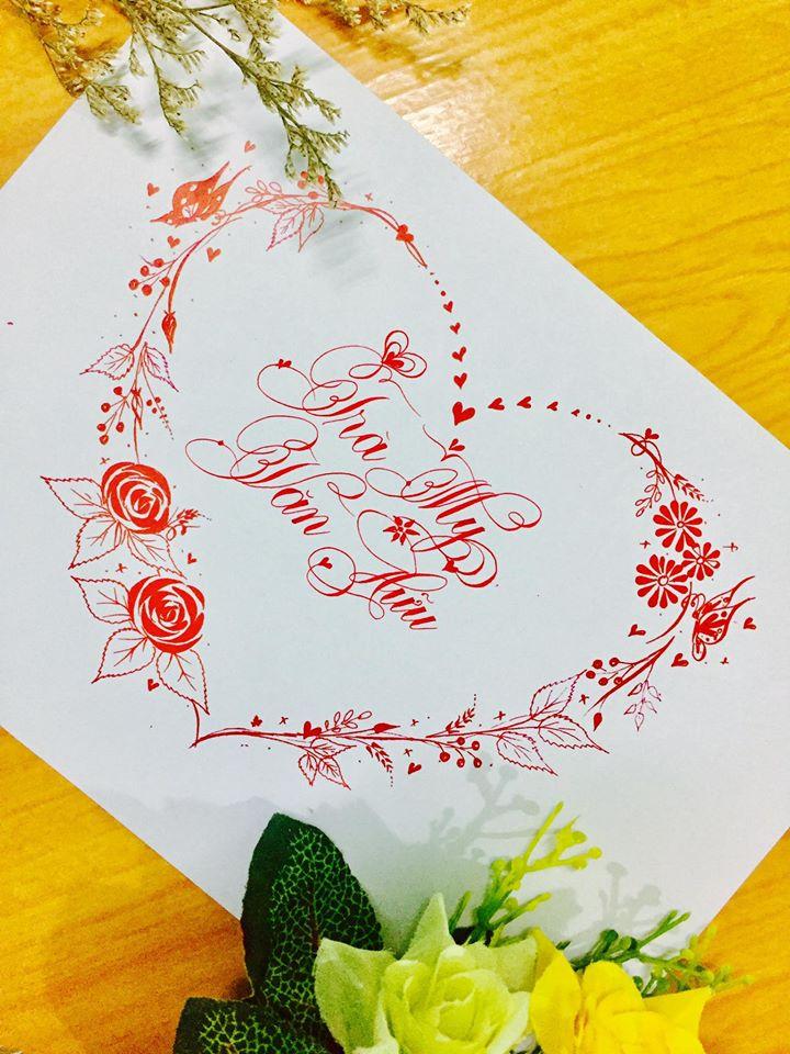 mau chu dep 46 - Bộ sưu tập mẫu chữ đẹp sáng tạo, chữ viết nghệ thuật với tên riêng