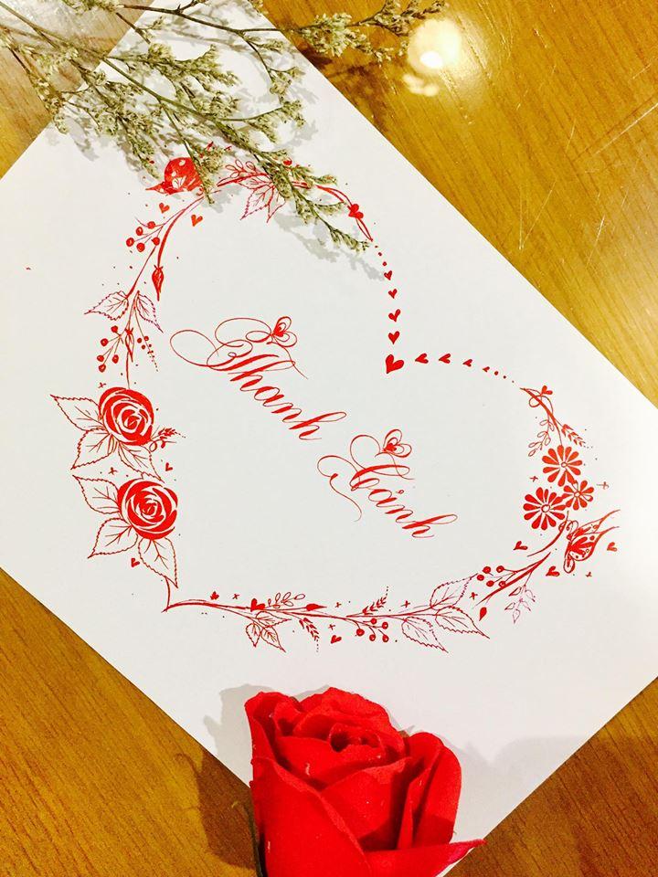 mau chu dep 47 - Bộ sưu tập mẫu chữ đẹp sáng tạo, chữ viết nghệ thuật với tên riêng