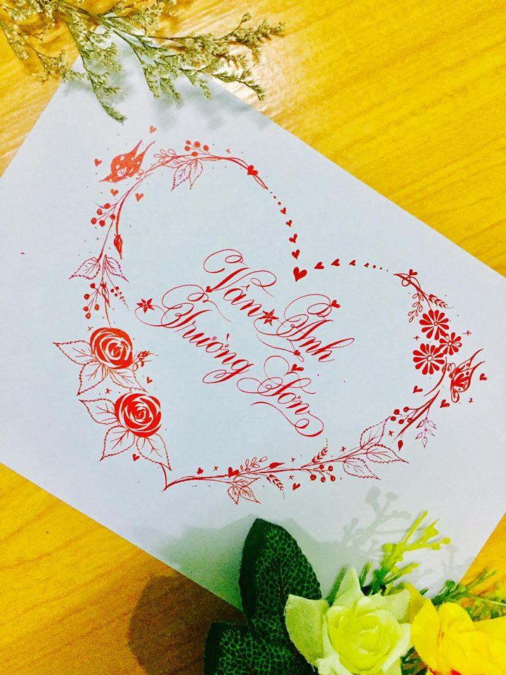 mau chu dep 49 - Bộ sưu tập mẫu chữ đẹp sáng tạo, chữ viết nghệ thuật với tên riêng