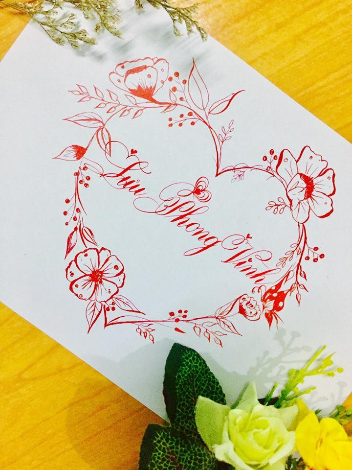 mau chu dep 50 - Bộ sưu tập mẫu chữ đẹp sáng tạo, chữ viết nghệ thuật với tên riêng