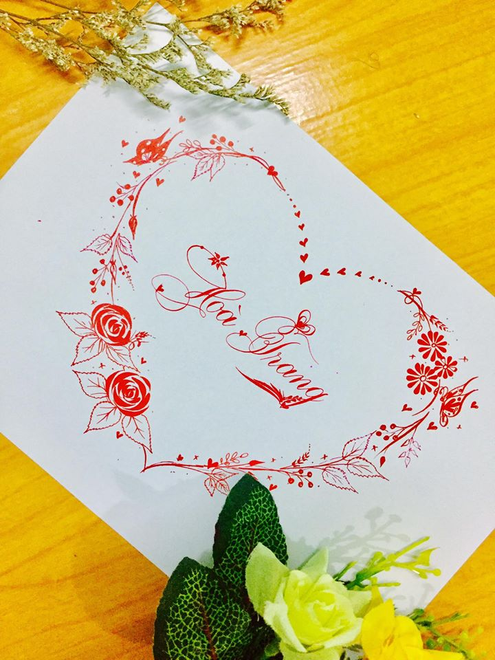 mau chu dep 51 - Bộ sưu tập mẫu chữ đẹp sáng tạo, chữ viết nghệ thuật với tên riêng