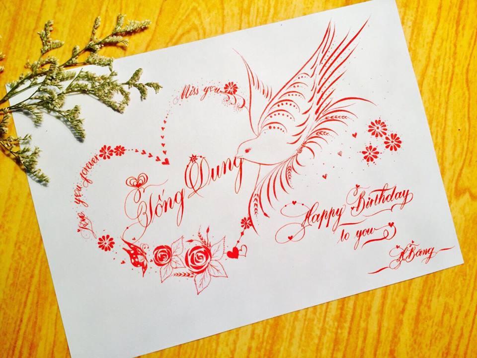 mau chu dep 57 - Bộ sưu tập mẫu chữ đẹp sáng tạo, chữ viết nghệ thuật với tên riêng