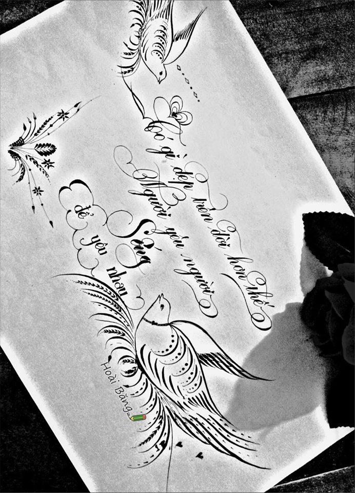mau chu dep 59 - Bộ sưu tập mẫu chữ đẹp sáng tạo, chữ viết nghệ thuật với tên riêng