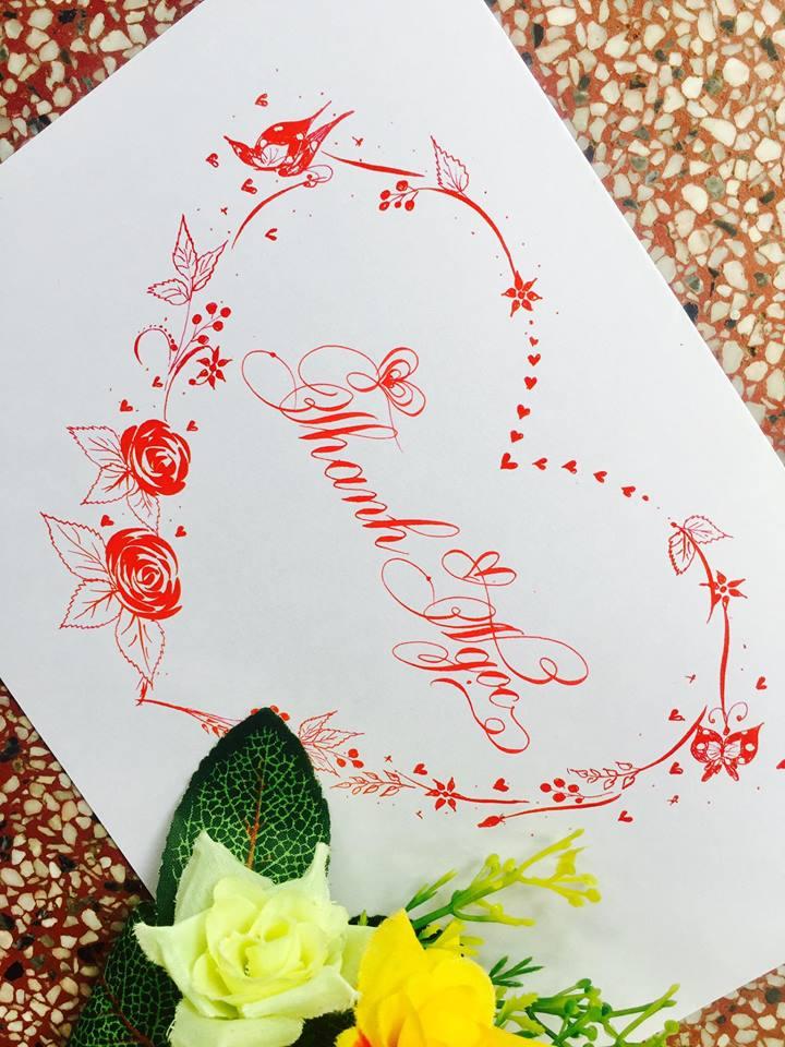 mau chu dep 61 - Bộ sưu tập mẫu chữ đẹp sáng tạo, chữ viết nghệ thuật với tên riêng