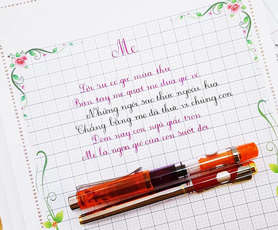 lớp luyện chữ đẹp