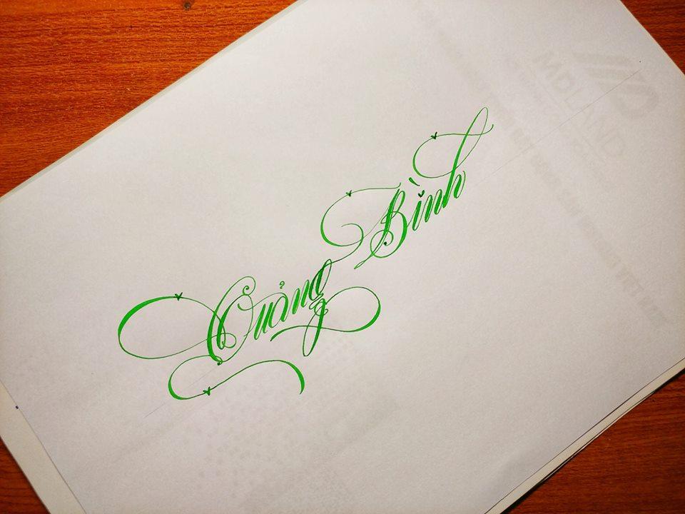 luyện chữ đẹp người lớn